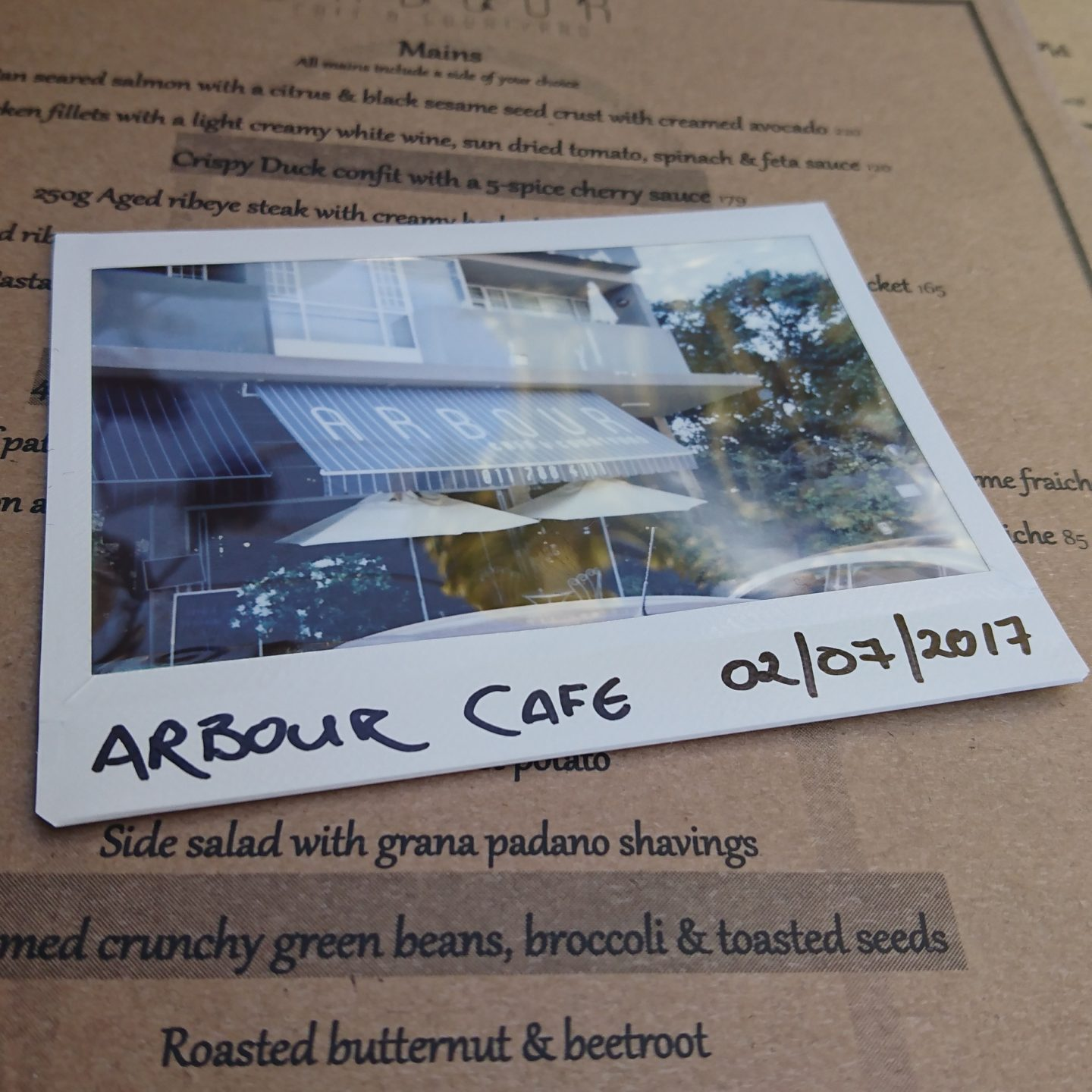Arbour Café and Courtyard:  The Secret Garden