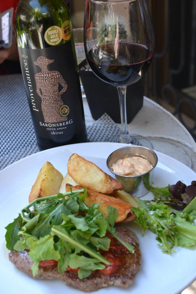 Saronsberg Shiraz, Arbour Café, Illovo, restaurant, Johannesburg, BoozyFoodie, #BoozyFoodieLikes,