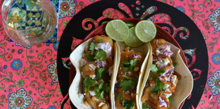 Kitchen at the End of the Universe: Leopard's Leap Culinaria Fish Tacos